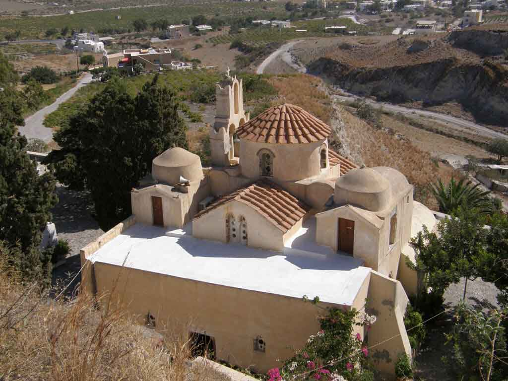 Old Vourvoulos Houses Santorini